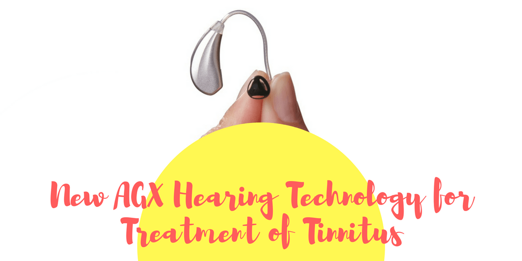 New AGX Hearing Technology for Treatment of Tinnitus