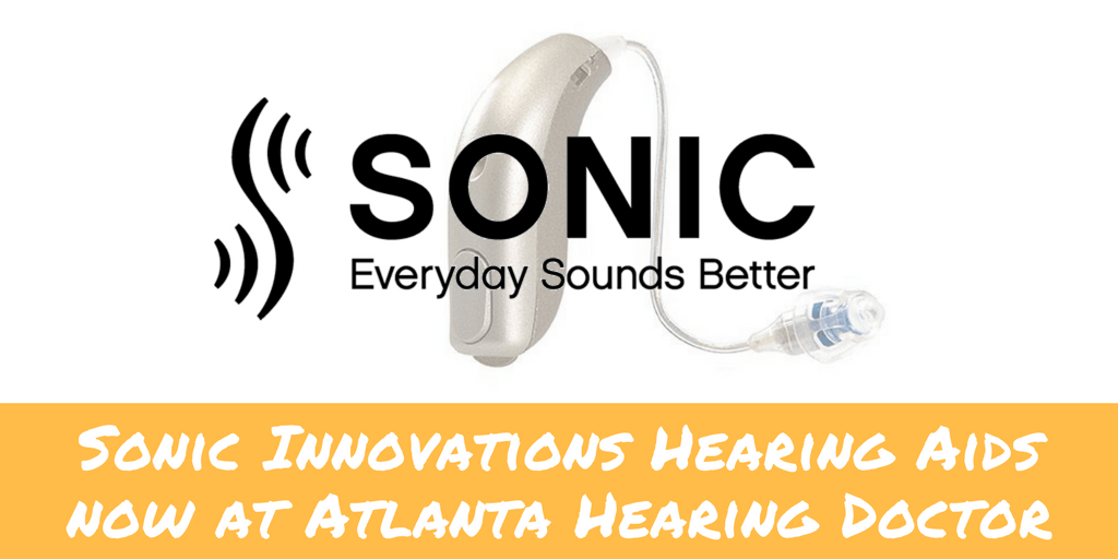 Sonic Innovations Hearing Aids now at Atlanta Hearing Doctor