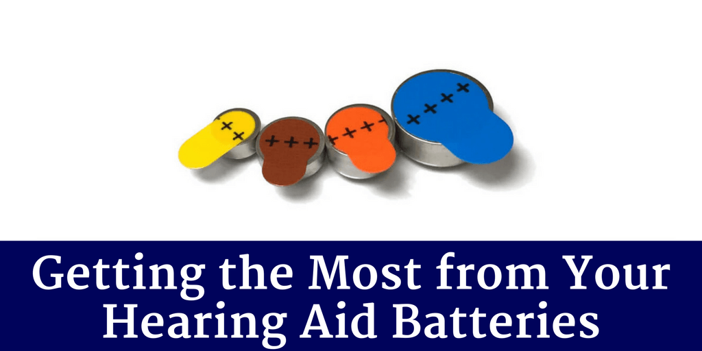 Getting the Most from Your Hearing Aid Batteries
