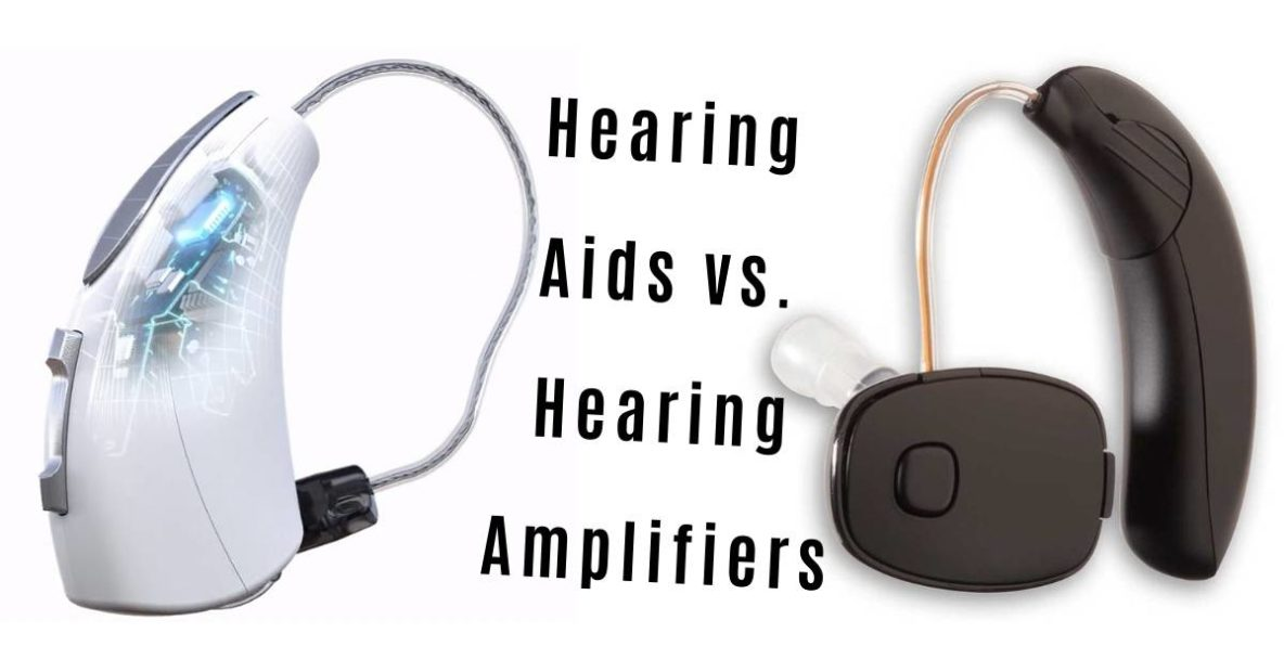 hearing aids and a hearing amplifier